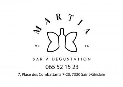 Bar à dégustation chez Martia